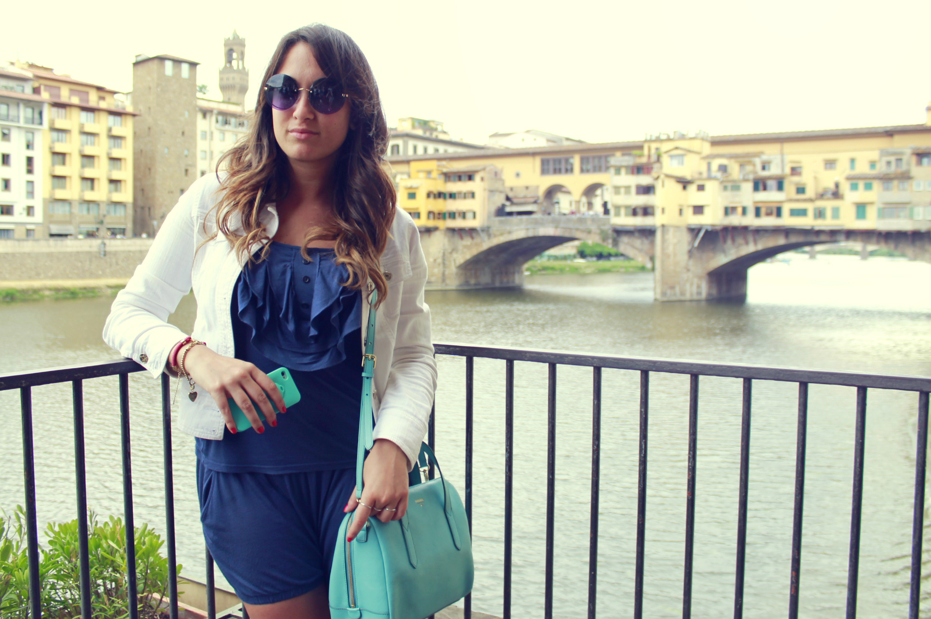 my glamour attitude, fashion blog, firenze, maria giovanna abagnale, pitti, luisaviaroma, ponte vecchio, florence, travel, fossil, lolita lempicka