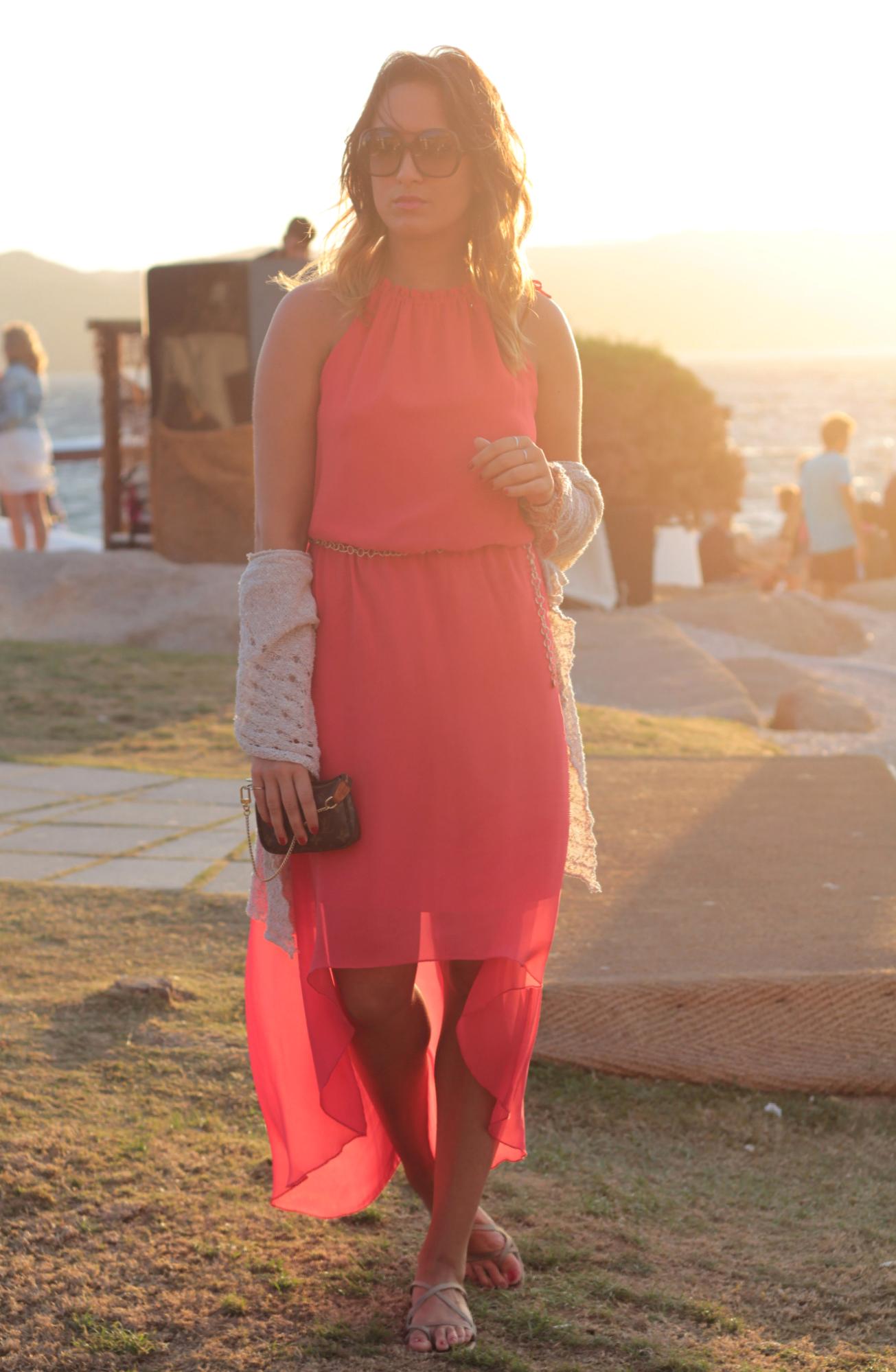 my glamour attitude fashion blog, maria giovanna abagnale, phi beach sardegna, costa smeralda, porto cervo, summer 2014, outfit, kocca, dress, sunset, moda, fashion