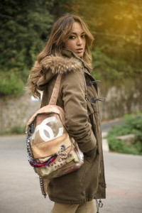 my glamour attitude, fashion blog, outfit, look, chanel backpack, parka, boots, autumn, winter, maria giovanna abagnale, lorenzo pandarolo ph, napoli