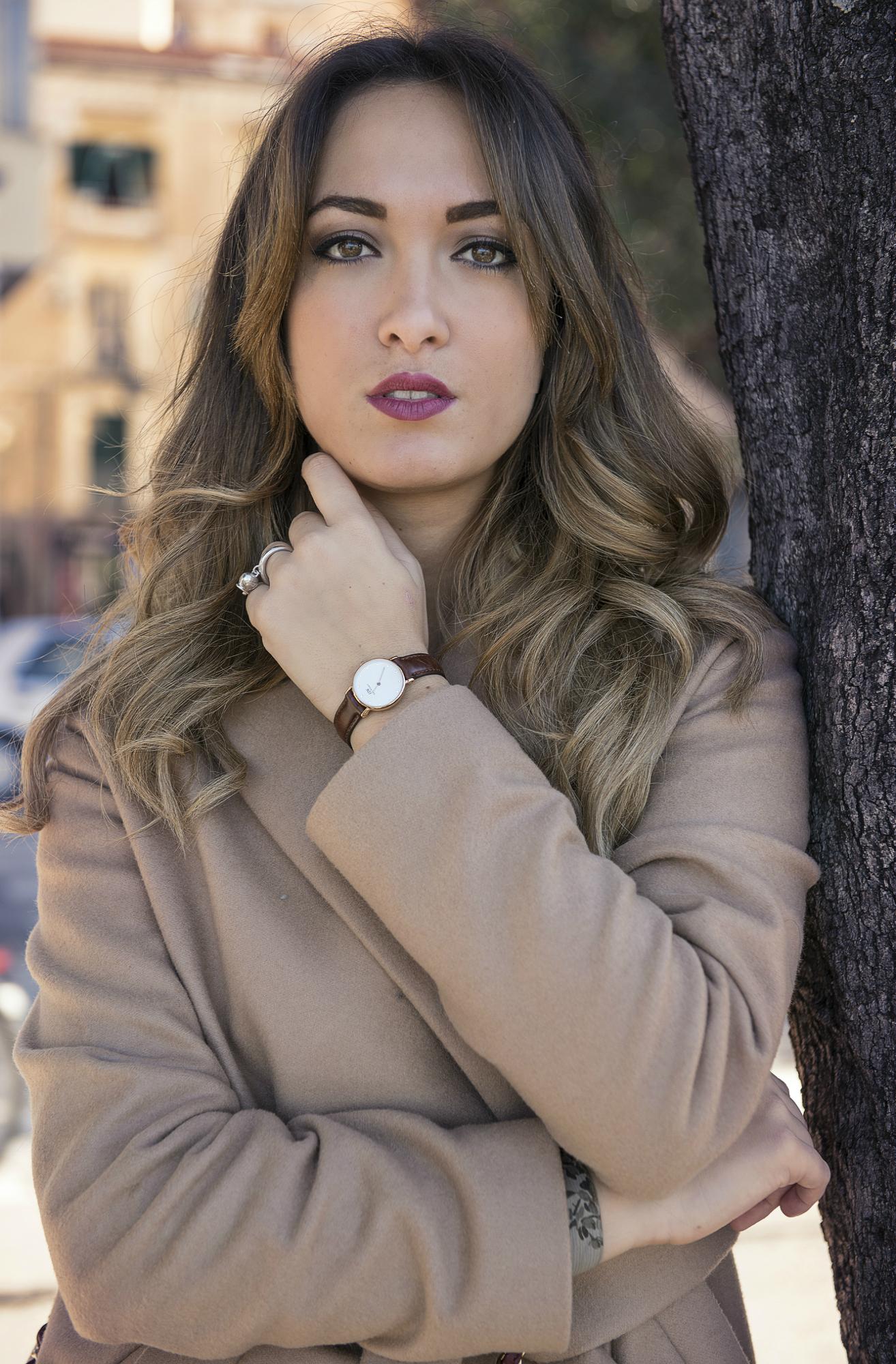 Maria giovanna abagnale, my glamour attitude, fashion blog, outfit, look, annie p, coat, cappotto, camel, trend, winter, 2015, mia bag, lorenzo pandarolo ph
